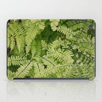 ferns. iPad Case
