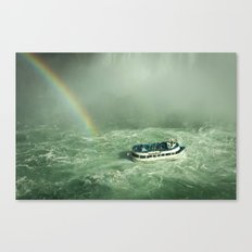 Lady of the mist Canvas Print