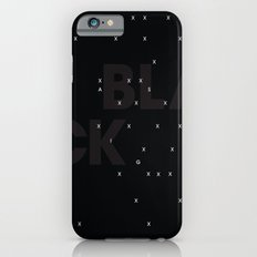 Black as night iPhone 6 Slim Case