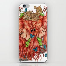 Jessa iPhone & iPod Skin