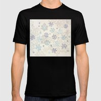 Beaucoup De Neige Mens Fitted Tee Black SMALL