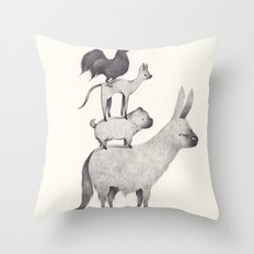 bremen Throw Pillow