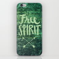 Free Spirit iPhone & iPod Skin