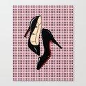 Heels #5 Canvas Print
