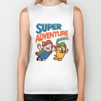Super Adventure Bros Biker Tank