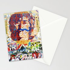 Peace on Earth - Love - Because the World is Round it Turns me On Stationery Cards