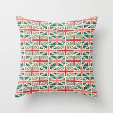 British/UK Flag Pattern Throw Pillow