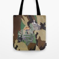Big Cats Of War The Unlucky Tote Bag
