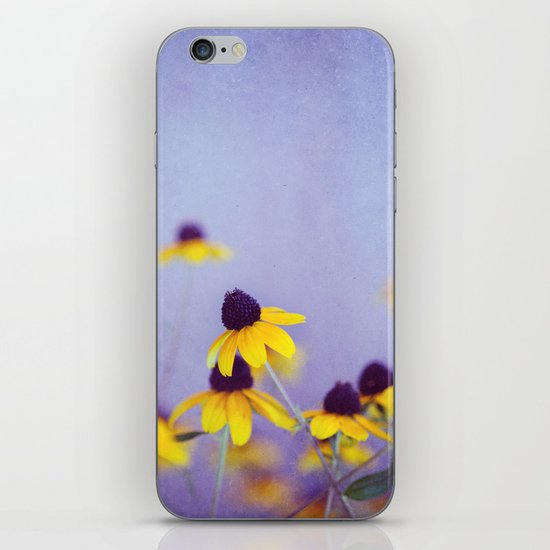 Lilac and Yellow iPhone & iPod Skin