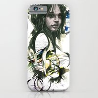 iPhone & iPod Case featuring she by Dominic Damien
