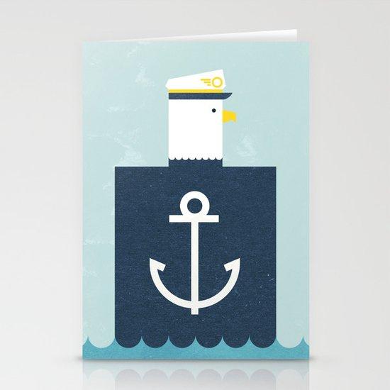 Eagle Captain Stationery Card
