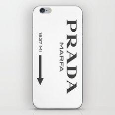 Grey Marfa  iPhone & iPod Skin