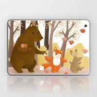 Friends of the forest Laptop & iPad Skin