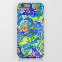 iPhone & iPod Case featuring Undersea World by Janet Broxon