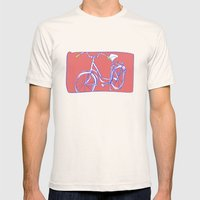 bicycle Mens Fitted Tee Natural SMALL