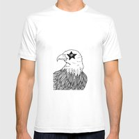 Eagle Eye Mens Fitted Tee White SMALL