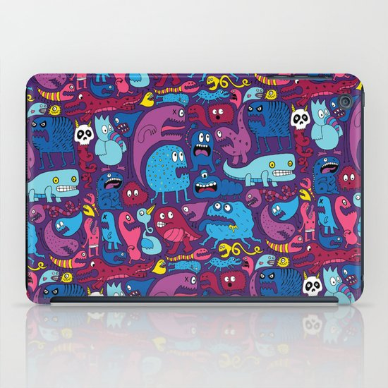 Mo' Monsters Mo' Problems iPad Case