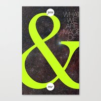 You & Me Canvas Print