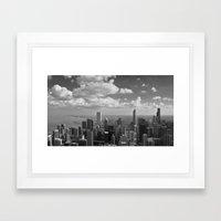 chicago... Framed Art Print