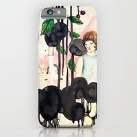 iPhone & iPod Case featuring dark silence in suburbia 3 by Randi Antonsen