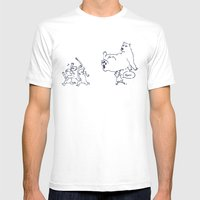 A Dose Of Polar Bear Mens Fitted Tee White SMALL