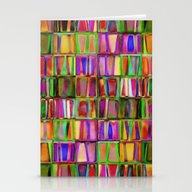 The Colorful World Of Bo… Stationery Cards