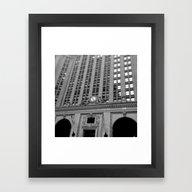 Framed Art Print featuring Helmsley Building by KatieKatherine