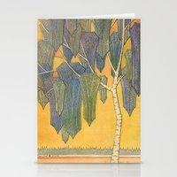 Birch 3 Stationery Cards
