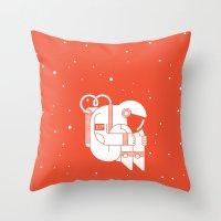 The Cosmonaut Throw Pillow