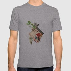 Etro Mens Fitted Tee Athletic Grey SMALL