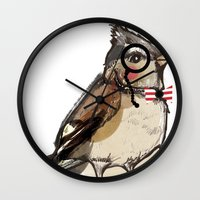 Mister Bird For Sorted E… Wall Clock