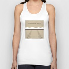 No189 My Thelma and Louise minimal movie poster Unisex Tank Top