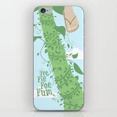 Fee Fie Foe Fum ! iPhone & iPod Skin