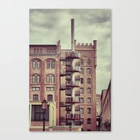 Former Industry Canvas Print