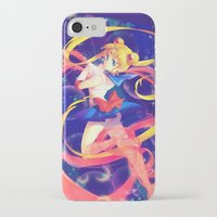 sailor moon iPhone & iPod Cases featuring Sailor Moon by Ginilla