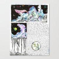 Nephocetacea Canvas Print