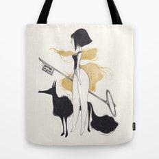 -K- Tote Bag