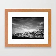 home, Porto Framed Art Print