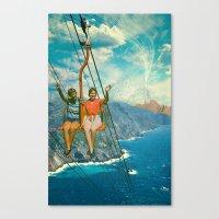 The Lift Canvas Print