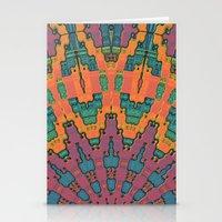 Sunset Mandala No. 1 Stationery Cards