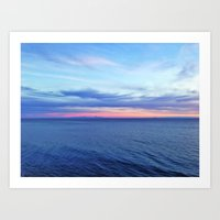 Colors of the Ocean Art Print