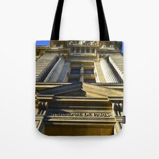 Academie De Paris Tote Bag