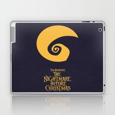 The Nightmare Before Christmas - Minimalist Poster 02 Laptop & iPad Skin