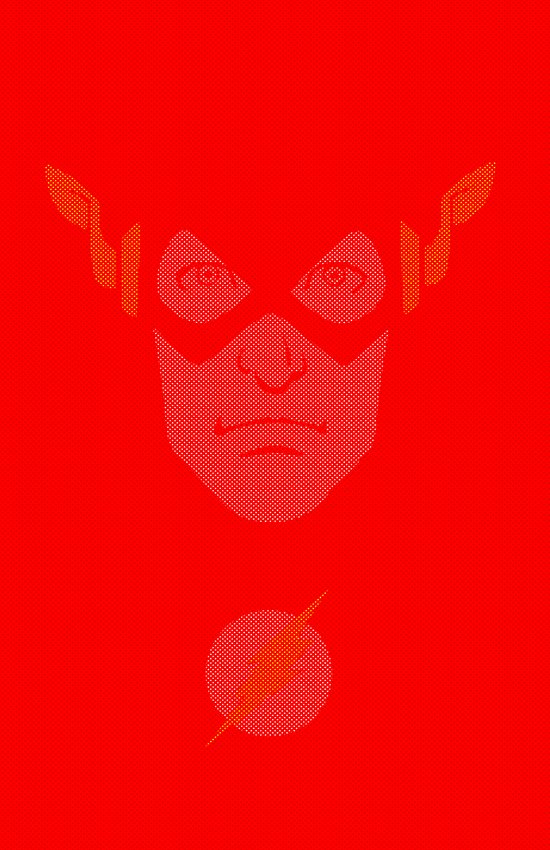 THE FLASH! Art Print
