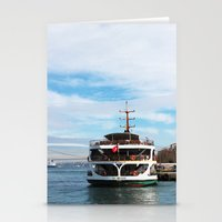 ship Stationery Cards featuring Ship by kartalpaf