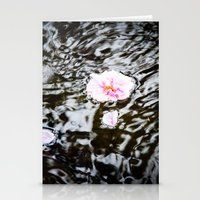 Cherry Blossoms On The W… Stationery Cards