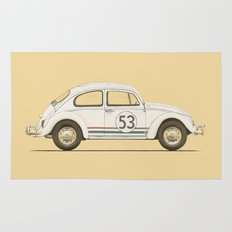 Famous Car #4 - VW Beetle Rug