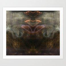 Heart Light Art Print
