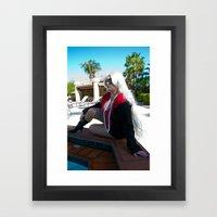 Amazing Spider-Man Black Cat Framed Art Print