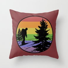 Hiking Throw Pillow